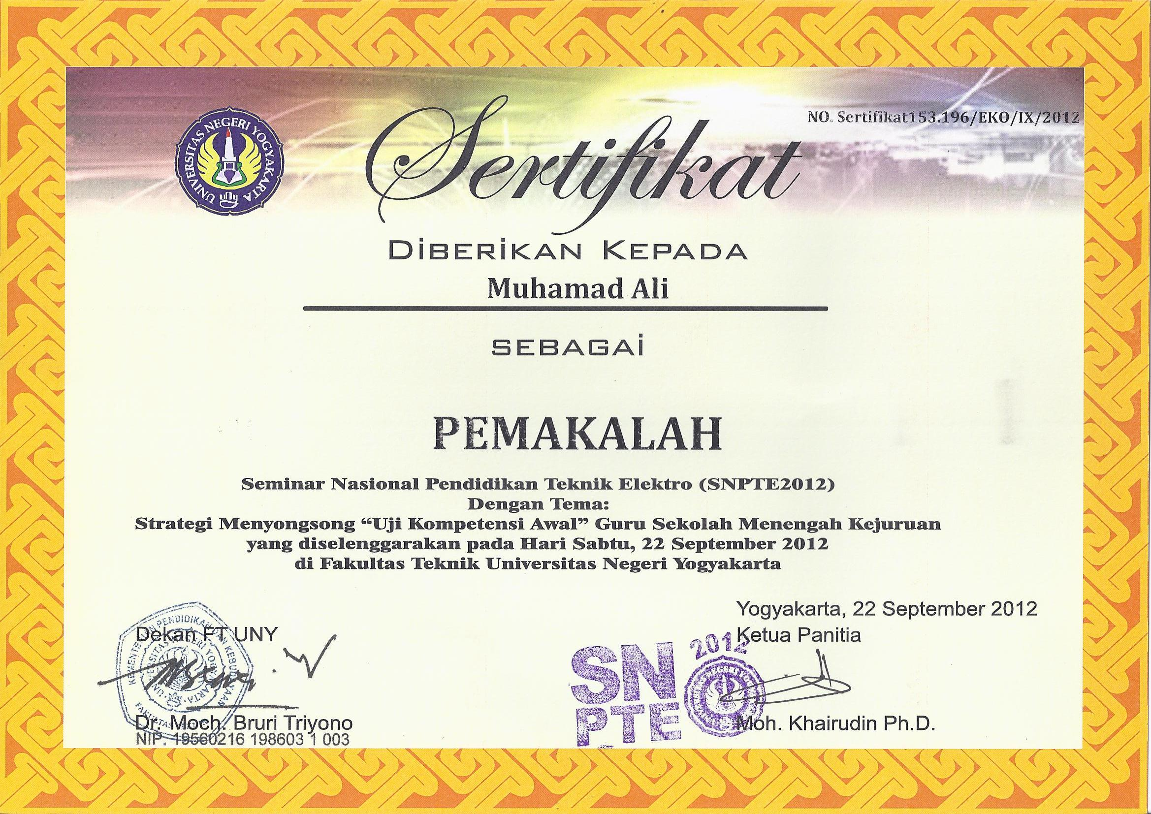 Contoh Silabus Smk Elektro Struktur Organisasi Magister Of Civil Engineering Muhamad Ali St M
